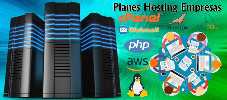 planes hosting para empresas